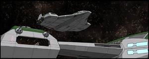 Outsider: Shuttle Launch by AriochIV