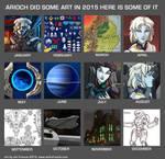 2015 Monthly Art by AriochIV