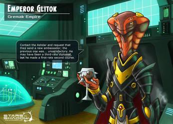 Stars in Shadow: Emperor Glitok the Devourer by AriochIV