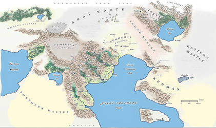 Second Six: Map of Temir by AriochIV