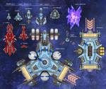 Hyperfleet Collage by AriochIV