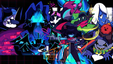 Deltarune: Welcome to the Dark World! by drag0nia