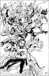 Justice League commission by CrimeRoyale