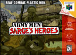 N64 Art Jam: Army Men by BLaKcatINK
