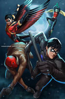 Robin : Brothers by GenghisKwan