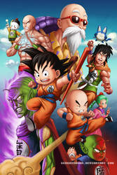 Dragon Ball Fan Art ! by GenghisKwan