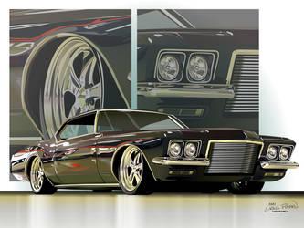 1972 Buick Riviera by CRWPitman