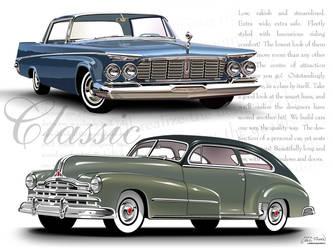 Classic Automobiles by CRWPitman