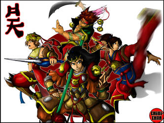 --Soldiers Coated in Red-- WP by chibigingi