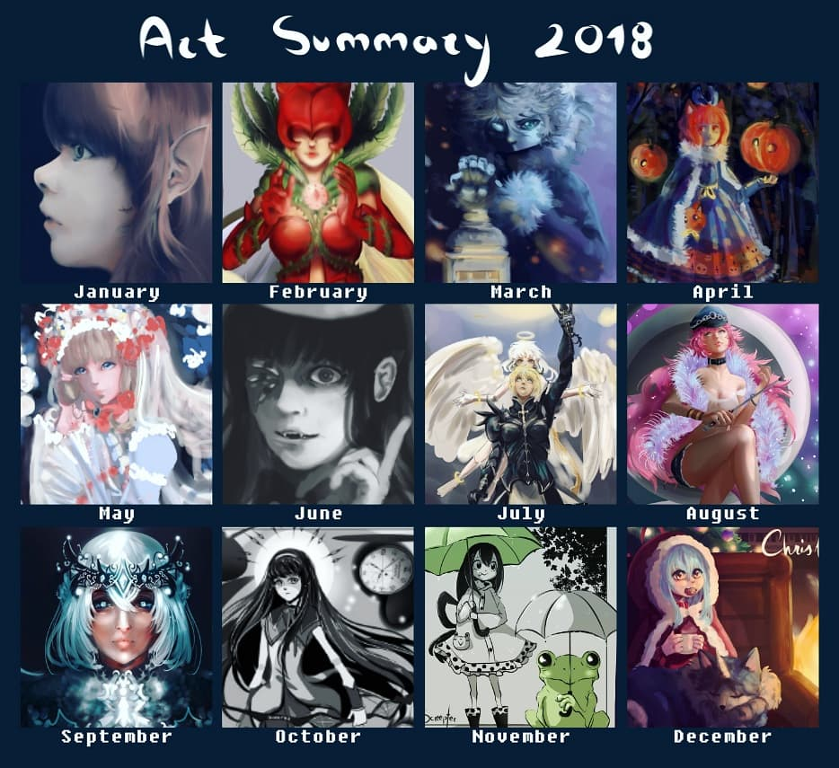 Art Summary 2018 by Screepter