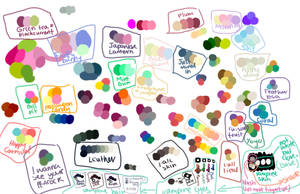 Colour Swatches by Choc-Flavoured-Near