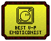 Emote Awards 2013 - Best VisualPurpose Emoticonist by Waluigi-Prower