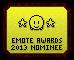 Emote Awards 2013 - Nominee by Waluigi-Prower
