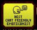 Emote Awards 2013 - Best Chat Friendly Emoticonist by Waluigi-Prower