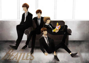 The Bealtes by wish114