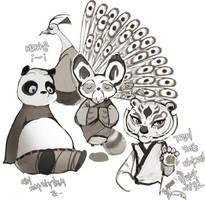 kungfu panda fanart by wish114