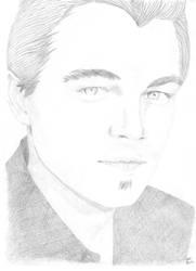 Dessin de Leonardo Di Caprio by Tchiiweb