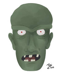 Zombie by Tchiiweb