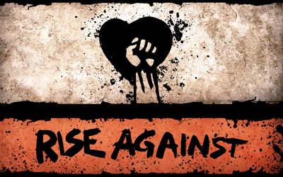 Rise against - Wallpaper by JookerDesign