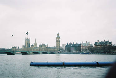 Big Ben and the Thames by scorgoro