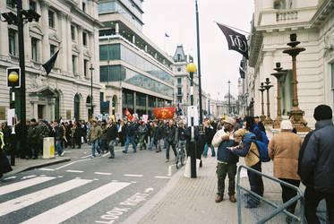Brits against Bush, Blair, War by scorgoro