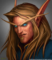 High elf male face recolored by BannanaHamma