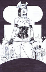 Hack Slash 11 Cover by Seeley by CadenceComicArt
