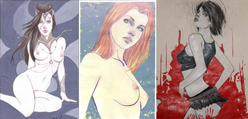Erik Jones Commission Examples by CadenceComicArt