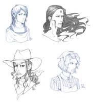 Free sketches 3 by Nine-O-PoppyBox
