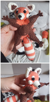 Amigurumi - Red panda by Nine-O-PoppyBox