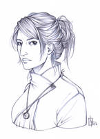 Anjali - sketch by Nine-O-PoppyBox