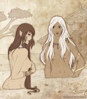 Two sisters by Kimir-Ra