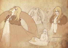 Taho_sketches by Kimir-Ra