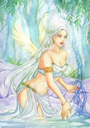 White goddess by Kimir-Ra