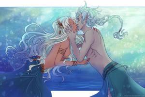 Underwater Kiss by Kimir-Ra