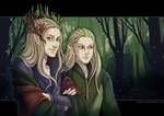 Forest elves by Kimir-Ra