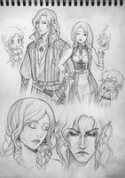 Storypage: Aminael and Dragon by Kimir-Ra