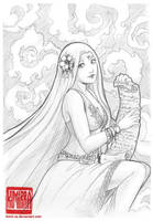 Dedication drawing: Aminael by Kimir-Ra