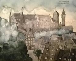 Nuremberg by johnduzelac