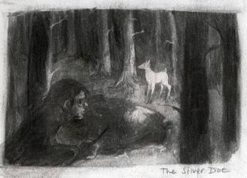 Deathly Hallows: Silver Doe by mokarran