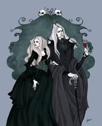 The Malfoys by IrenHorrors