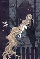 Rapunzel by IrenHorrors