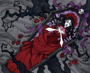 Dead Snow White by IrenHorrors