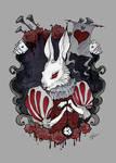 White Rabbit by IrenHorrors
