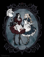 Different faces of Alice by IrenHorrors