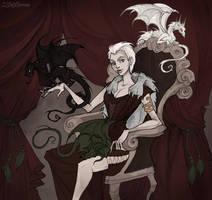 Daenerys Targaryen by IrenHorrors