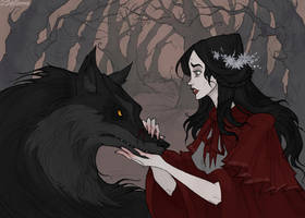 Red Riding Hood by IrenHorrors
