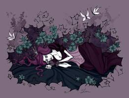 Sleeping Beauty by IrenHorrors