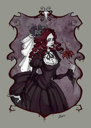 Bloody Lady by IrenHorrors