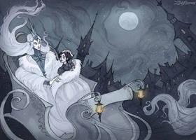 Snow Queen by IrenHorrors